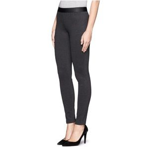 J. CREW | CHARCOAL PIXIE PULL ON DRESS PANTS ANKLE